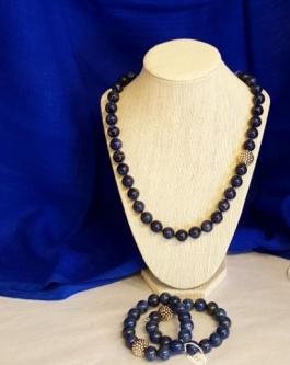 Lapis Lazuli Necklace & bracelets.jpg